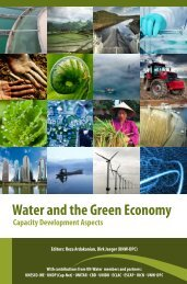 Water and the Green Economy Capacity Development ... - UN-Water