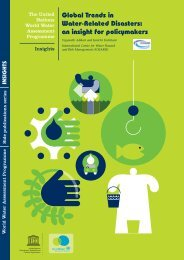 Global trends in water-related disasters: an insight for ... - UN-Water