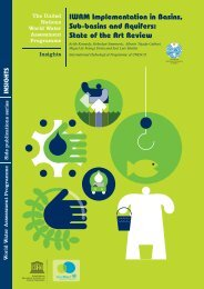 IWRM implementation in basins, sub-basins and aquifers - UN-Water