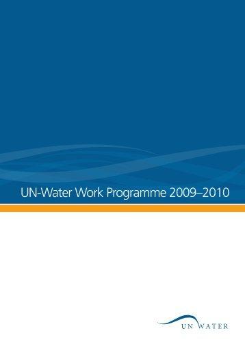 UN-Water Work Programme 2009–2010