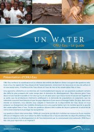 ONU-Eau – Le guide - UN-Water
