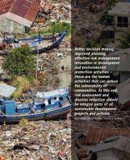 Managing Risks - UN-Water