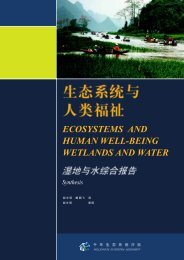 ECOSYSTEMS AND HUMAN WELL-BEING WETLANDS ... - UN-Water