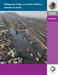 Diálogos por el Agua y el Cambio Climático: Llamado a ... - UN-Water
