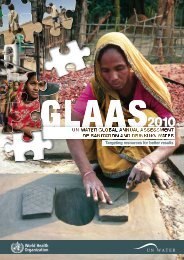 Global Annual Assessment of Sanitation and Drinking ... - UN-Water