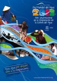 la cooperación en la esfera del agua 2013 - UN-Water