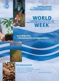 World Water Week - UN-Water