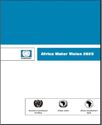 Africa Water Vision for 2025 - UN-Water