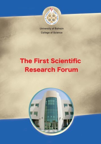 The First Scientific Research Forum