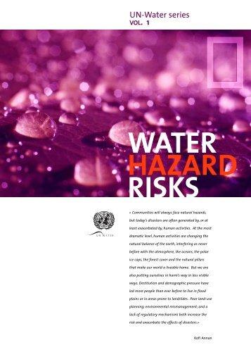 Water Hazard Risks - UN-Water