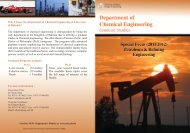 Why Choose the Department of Chemical Engineering at University ...