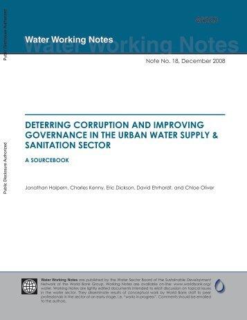 A Sourcebook - UN-Water