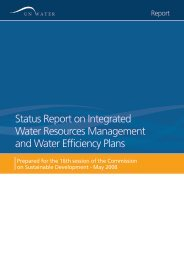 Status Report on Integrated Water Resources ... - UN-Water