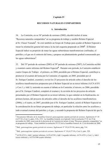 15 Capítulo IV RECURSOS NATURALES ... - UN-Water
