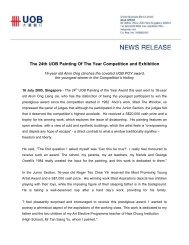 The 24th UOB Painting Of The Year Competition and Exhibition