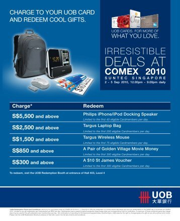 DEALS AT - United Overseas Bank