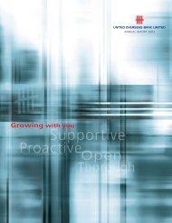 UOB Annual Report 2003 - United Overseas Bank