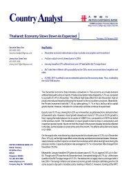 CountryAnalyst - United Overseas Bank