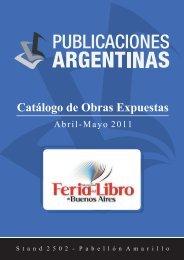 Catálogo Buenos Aires 2011 - Publicaciones Argentinas