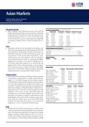 Asian Markets - United Overseas Bank