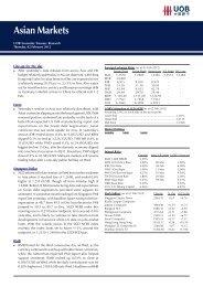 Asian Markets - United Overseas Bank