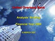 NII - United Overseas Bank