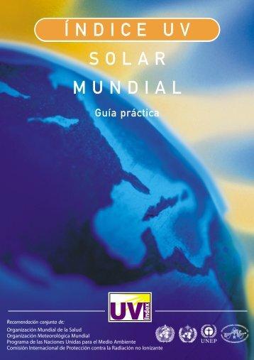 Indice UV solar mundial - World Health Organization