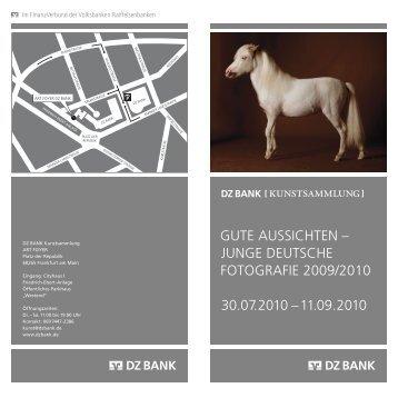 Einladungskarte zur Ausstellung in Frankfurt/Main ... - Gute Aussichten