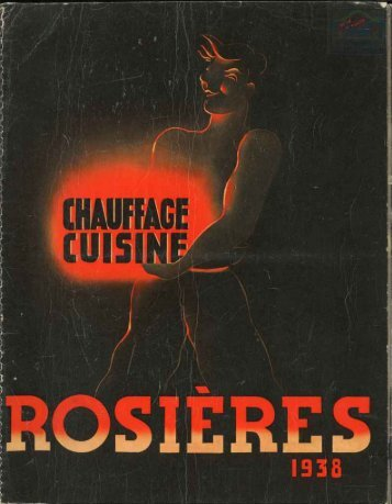 ROSIERES catalogue 1938 - Ultimheat