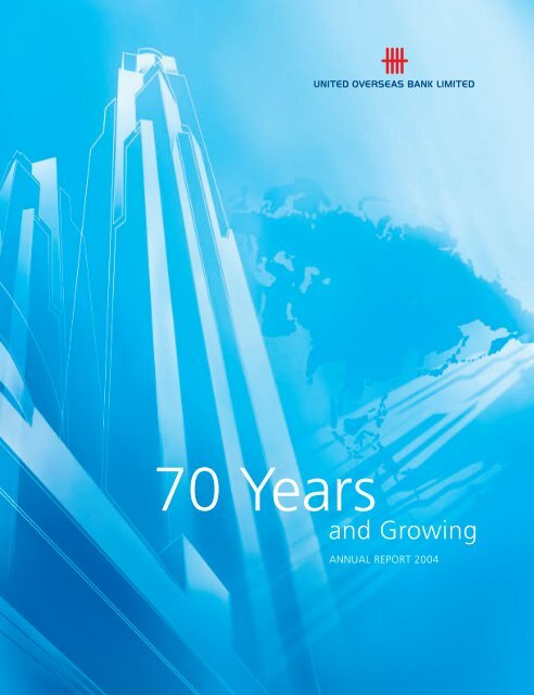 UOB Annual Report 2004 - United Overseas Bank