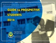 Guide to Prospective Students - Polytechnic of Namibia