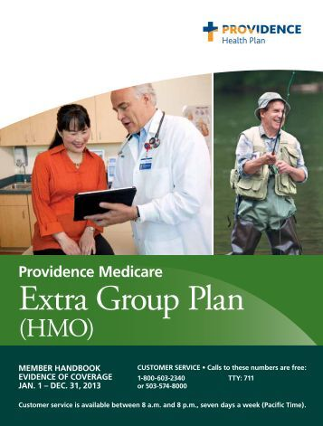 Evidence of Coverage - Providence Health Plan