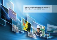KAZAKHSTAN UPSTREAM OIL AND GAS technology and R&d ...