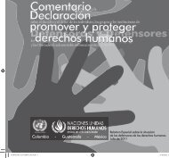 Comentarios a - Office of the High Commissioner for Human Rights