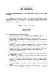 Regulamin dostarczania wody i odprowadzania ścieków ...