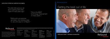 Download Unite brochure - GN ReSound