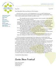 Cover Letter parent packet 5772.pub - Congregation Ohev Shalom