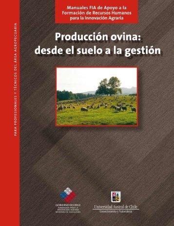 Producción ovina : desde el suelo a la gestión