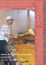 Panela, der Süßstoff um den Krieg zu beenden - Deutsch ...