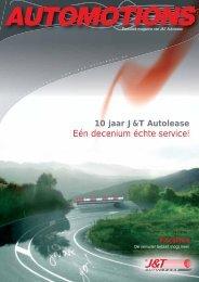 Eén decenium échte service! - J&T Autolease