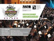 Sponsorship opportunities - Milwaukee Symphony Orchestra