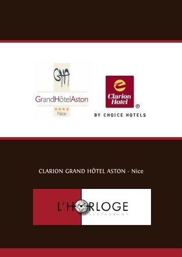 Hôtel Radisson Nice (4 étoiles) - grand hotel aston nice