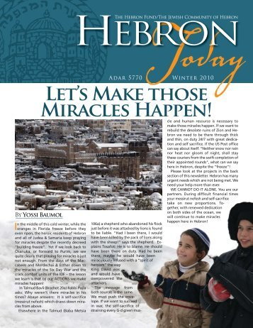 Download Newsletter here - Hebron Community