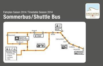 Busfahrplan - Fürenalp