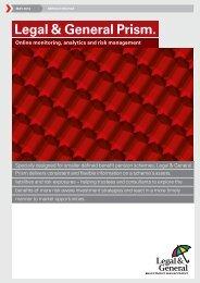 Prism Service Profile - Legal & General Investment Management