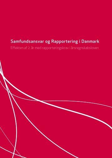 Samfundsansvar og Rapportering i Danmark - Erhvervsstyrelsen
