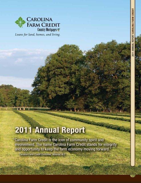 2011 Annual Report - Carolina Farm Credit