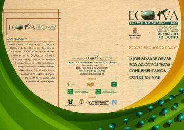 Programa de ECOLIVA 2012. - Ayuntamiento de Puente de Génave