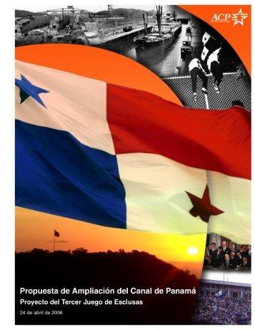 Propuesta de Ampliación del Canal de Panamá