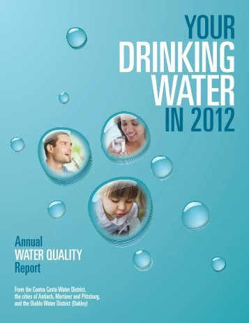 Water Quality Report for 2012 - City of Antioch